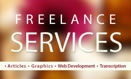 WE OFFER FREELANCE SERVICES TO BUSINESSES AND WEBSITE OWNERS