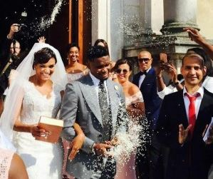 Samuel Eto'o Finally Ties The Knot With His Girlfriend Of So Many Years