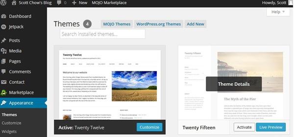 Blog themes2