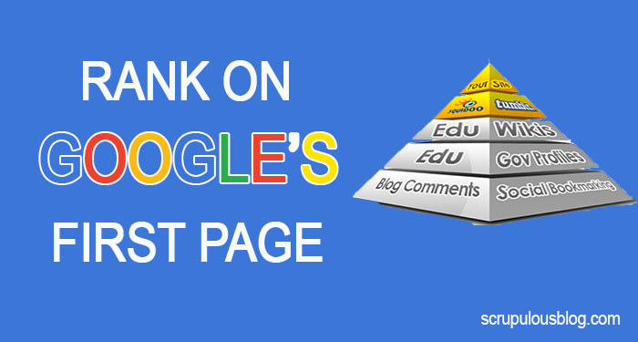 HOW TO RANK ON THE FIRST PAGE OF GOOGLE IN 2020